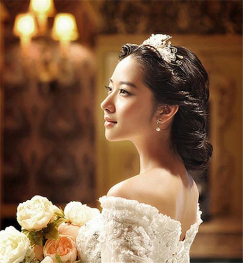 影楼新娘发型图片2017 新娘发型怎么做好看