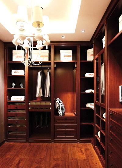 男士衣帽间设计衣柜图片