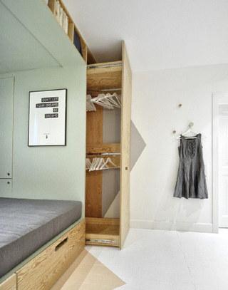 创意卧室衣柜设计图
