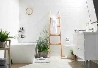 简约精美浴室装修构造图