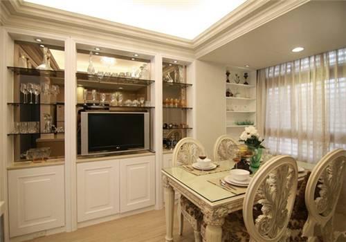 厨房酒柜效果图 酒柜给家中增添品味
