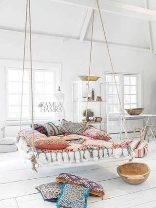 室内吊床设计实景图