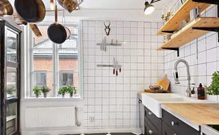70平小户型装修厨房收纳效果图