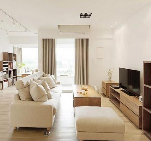 69㎡老房子重新装修图片 老房8万改成素雅一居室案例