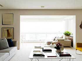 150㎡北欧风三居室设计效果图  白金岁月