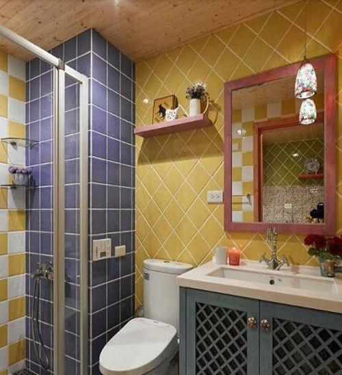 一室一厅装修效果图 52平小复式田园装修案例