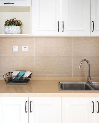 110平米北欧风格三居整体厨房装修
