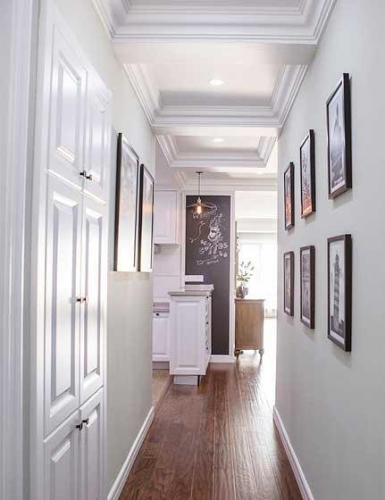 走廊设计挂画设计平面图