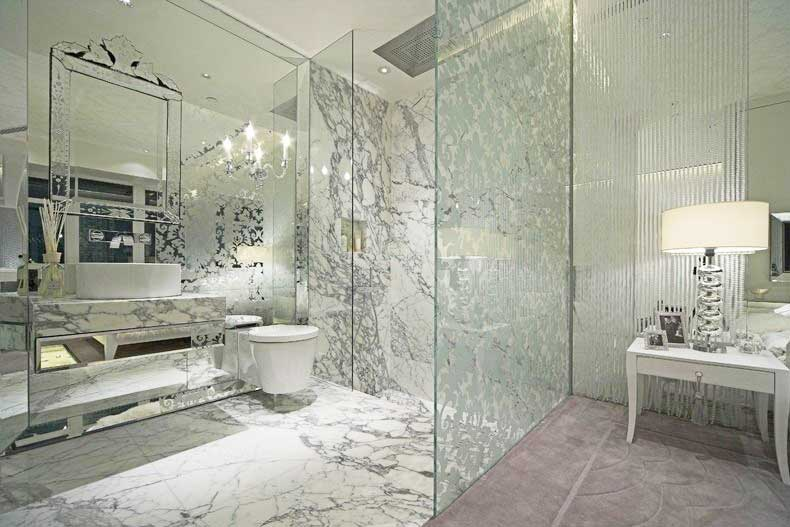 卫生间玻璃墙设计图片大全
