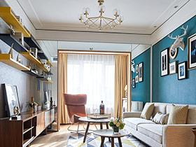 89平现代简约风格三居室装修 都市动感生活