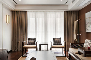 138平新中式风格客厅沙发图片