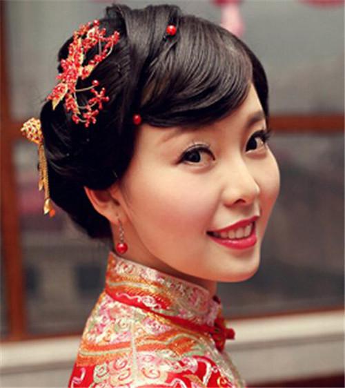 古装新娘发型图片欣赏 古装新娘适合扎什么发型