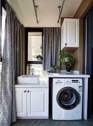 阳台洗衣房设计图片大全