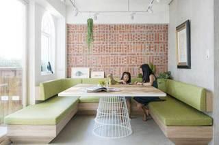 70平米单身公寓餐厅效果图