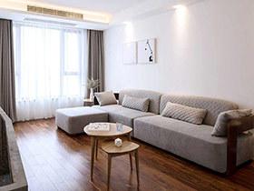 89平现代简约风格小两室设计 小空间更温馨