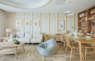 日式两居室装修设计实景图