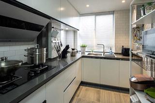 北欧风格三居室整体厨房装修