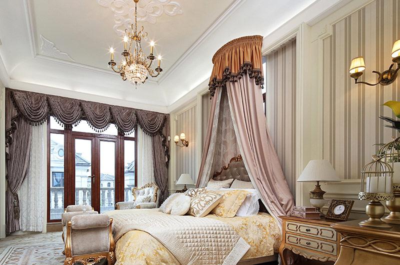 欧式古典风格样板房儿童房装修