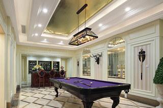 欧式古典风格样板房休闲室设计