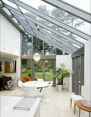 玻璃阳光房装修设计