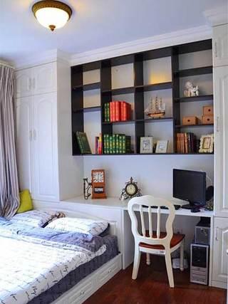 书房榻榻米装修装饰效果图