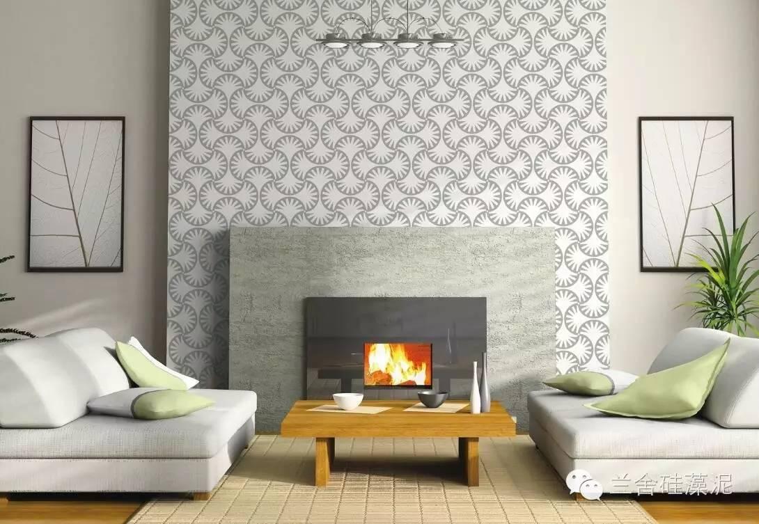 艺术感强的兰舍硅藻泥墙面可以给整个空间加分,不信你看!