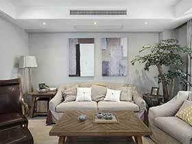 现代简约风两居室效果图  越简单越幸福