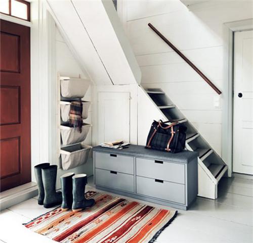 小户型楼中楼设计图 6w打造50平现代风小户型楼中楼