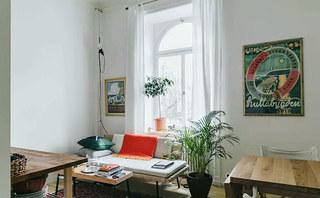 20平单身公寓装修客厅设计图