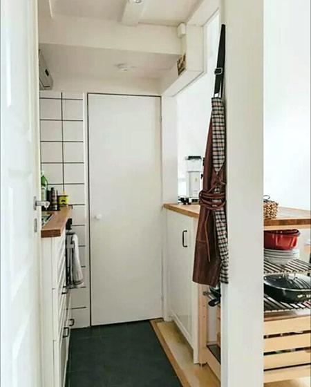 20平单身公寓装修玄关设计装修图