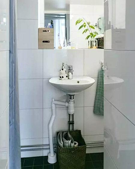 20平单身公寓装修卫生间装修