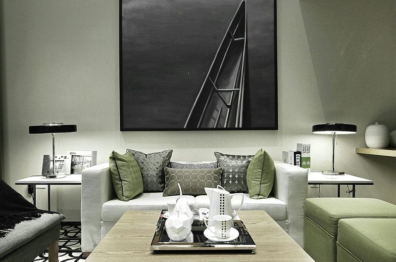 24平单身公寓装修客厅设计图