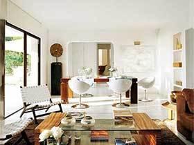 为家添美意  10个精致客厅摆放设计图片