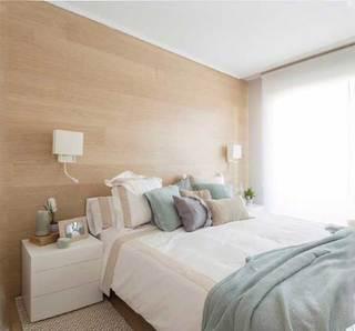 北欧风卧室装修装饰效果图