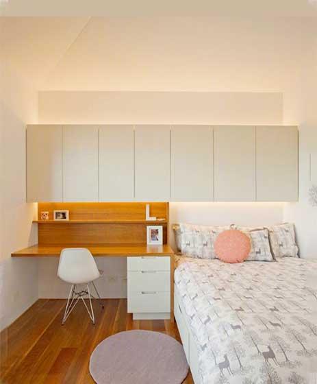 北欧风卧室构造图片
