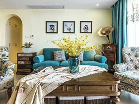 146平美式风格两室两厅设计 布拉诺的回忆