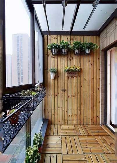花园阳台背景墙图片