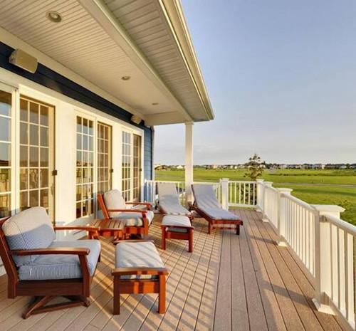 室外阳台装修效果图 轻松教你如何打造户外花园