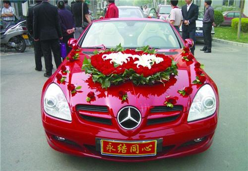 结婚车图片大全欣赏 结婚车怎么装饰好看