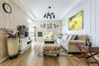 105㎡美式三居室整体图片