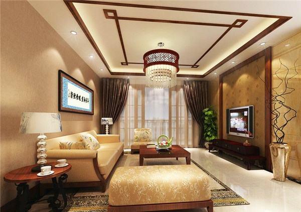 客厅天花吊顶应该怎么装修 客厅天花吊顶的注意事项图片