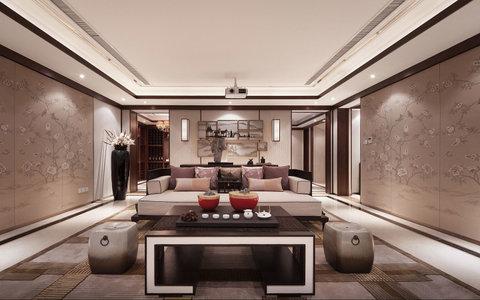别墅中式装修效果图案例问题   别墅 20万以上 中式 造价: ¥ 80 案例图片