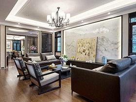 400平新中式风格别墅装修图 岁月的沉淀