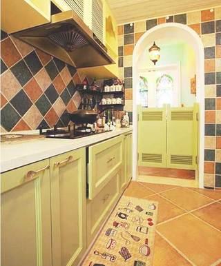 地中海风格厨房图片大全