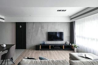 简约风格三居室装修客厅设计