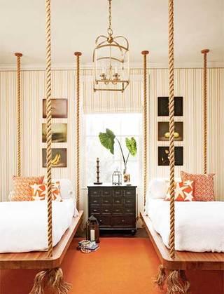 室内吊床设计欣赏图