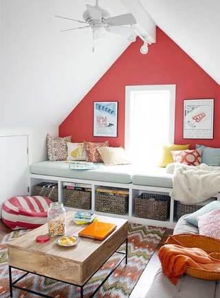 阁楼卧室设计平面图