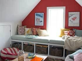 花样定制家  10款阁楼卧室设计图片