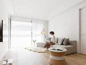 简约混搭风格单身公寓图片  热爱生活的美