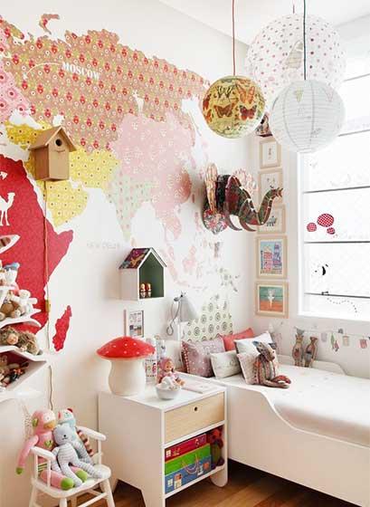 童趣儿童房设计平面图